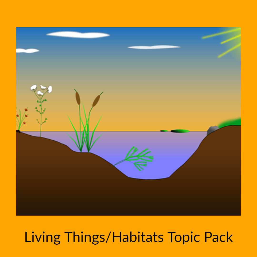 living things ghabitats