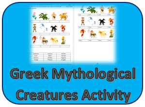 Greek Mythology Creatures