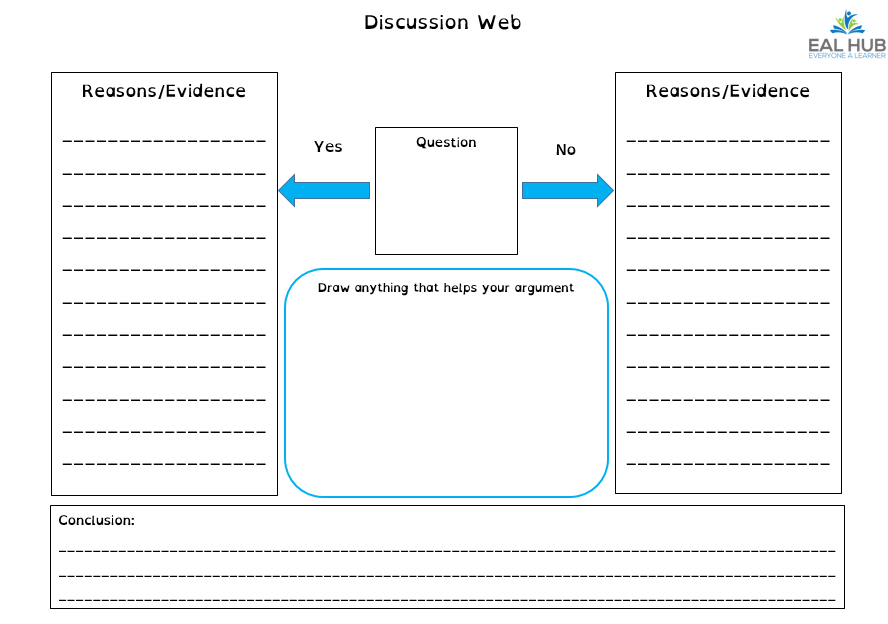 discussion web image